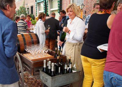 Wijnproeverij bij Marga's wijnlokaal