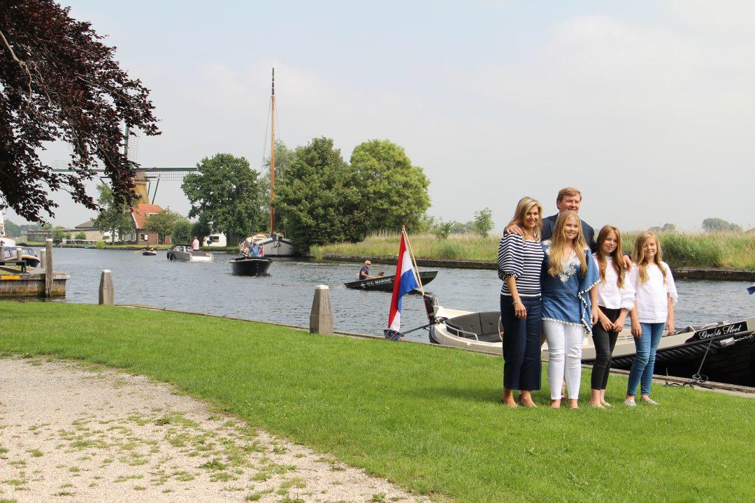 Koninklijk gezin in Warmond