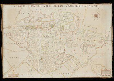 kaart_JDouw_kleine_versie prekadastrale kaart 1667
