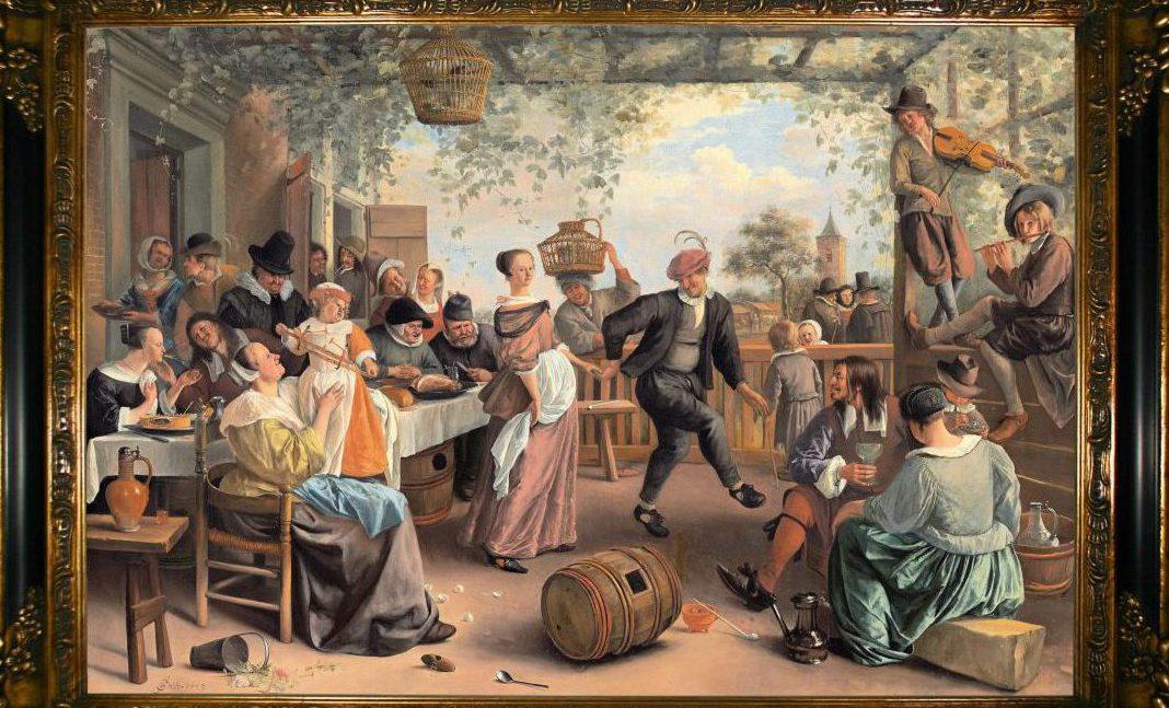 Expositie Jan Steen in Galerie De Pomp