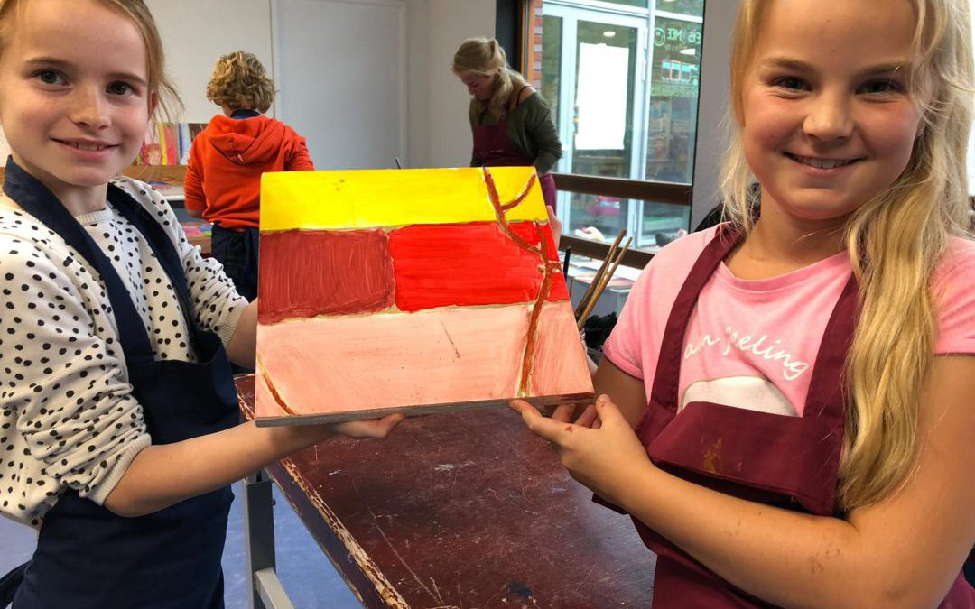 Opening Kunstweek: Warmondse schooljeugd in de sporen van Jan Steen