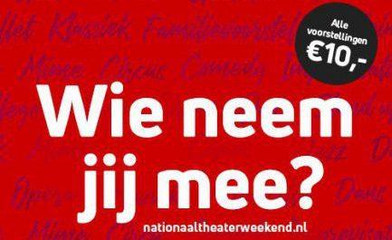 Ook Nationaal Theaterweekend in het Trefpunt