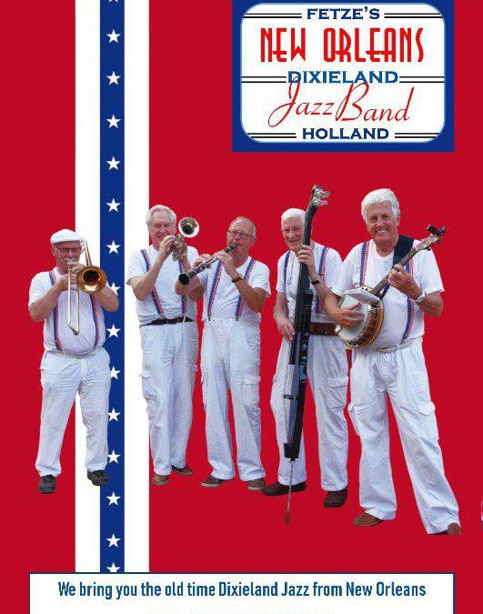 Live muziek in De Oude School: Fetze's Dixieland JazzBand