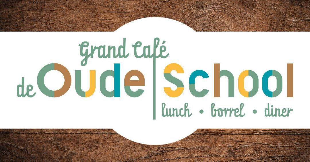 Nieuw jaar, nieuw logo voor Grand-café De Oude School