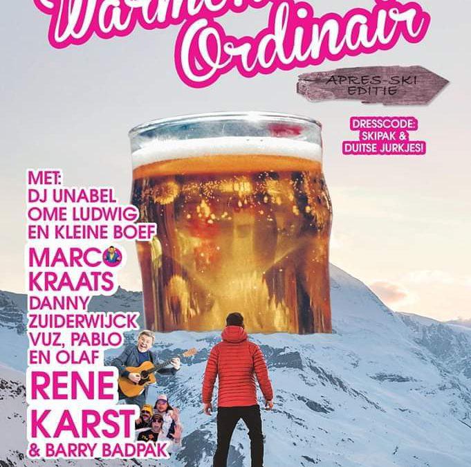 Evenement Uitgelicht: Warmond Ordinair Après-Ski Editie