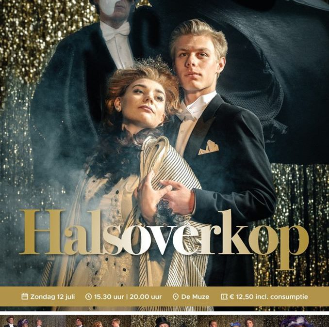 "Theaterschool Teylingen presenteert: ""Halsoverkop"" in Theater De Muze in Noordwijk"