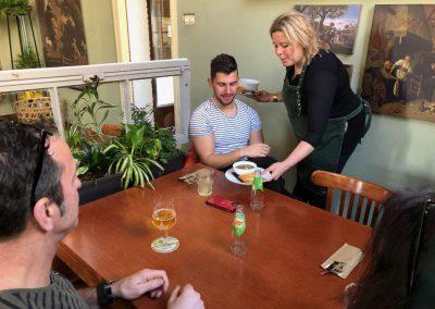 eten en drinken bij Grand Cafe de Oude School